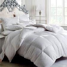 All Size 350GSM 100% Duck Feather Quilt/Doona Duvet  Blankets