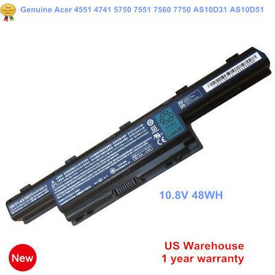 Genuine Original AS10D41 AS10D31 Battery for Acer Aspire 4551 4741 5733Z 5742