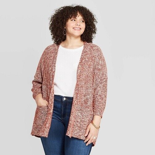 Women's Plus Size layering Open Kimono Cardigan – Universal Thread 3X Red (NWT) Clothing, Shoes & Accessories