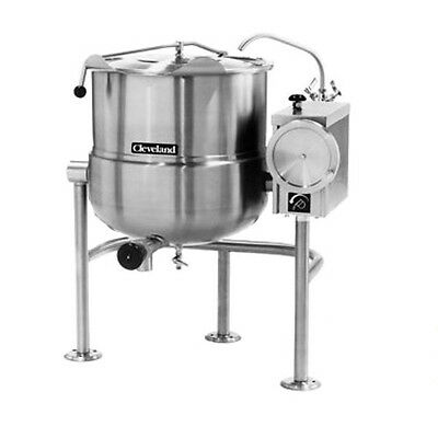 Cleveland Kdl40t 40 Gallon Capacity Tilting Direct Steam Kettle