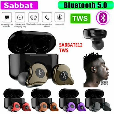 Sabbat E12 Ultra QCC3020 TWS Bluetooth5.0 Earphone Stereo Wireless Earbuds UK
