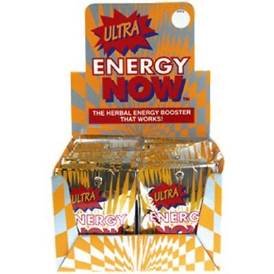 Ultra Energy Now, the Herbal Energy Booster that works, 24 packets x 3 (Herbal Energy Boosters)