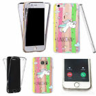 Unicorn Rainbow Silicone/Gel/Rubber Mobile Phone Cases, Covers & Skins