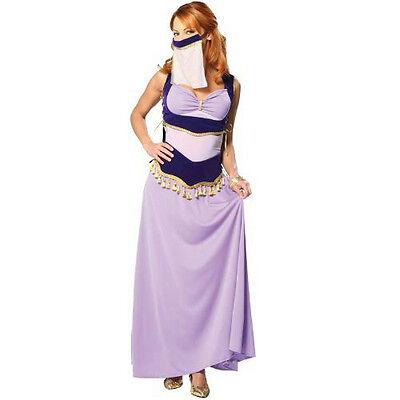 Cinema Secrets Sexy Jasmine Purple Harem Dancer Adult Costume Size XS 2-4](Purple Jasmine Costume)
