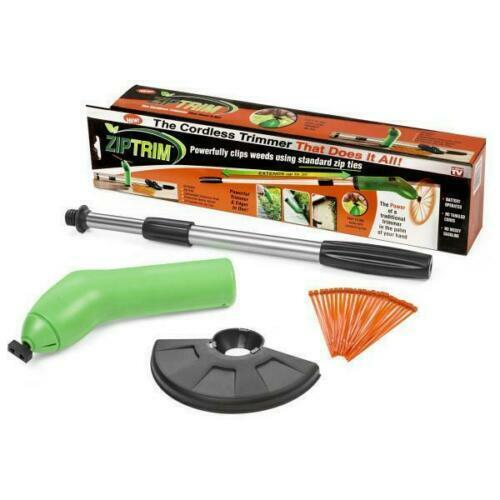 ASOTV Zip Trim Cordless Trimmer & Edger, Green Apple Color