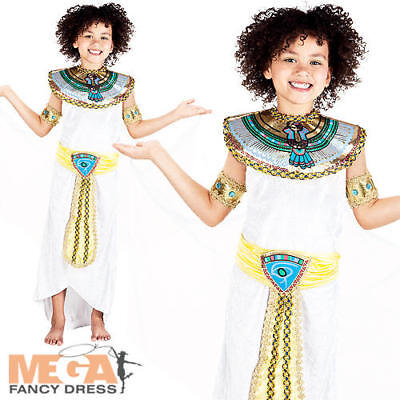 Egyptian Princess Girls Fancy Dress Ancient Egypt Queen Cleopatra Kids Costume - Egypt Princess Costume