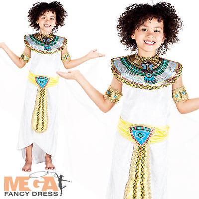 Egyptian Princess Girls Fancy Dress Cleopatra Egypt Book Week Kids Child Costume - Egypt Costume For Girls