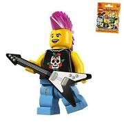 Lego Minifigures Punk Rocker