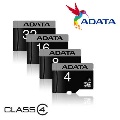 Adata 4GB 8GB 16GB 32GB Micro SD Card TF Class 4 Samsung Nintendo Switch Android](samsung 8gb memory card)