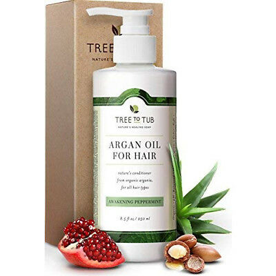 Hair Conditioner Damaged Dandruff Oily Dry Scalp Organic Argan PH 5.5 Balanced
