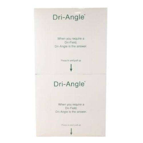 DRI-ANGLE WITH SILVER - LARGE COTTON ROLL SUBSTITUTE - BOX OF 320