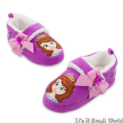 Disney Store Sofia the First Purple Sofia Slippers Girls Size 5 6 Toddlers - Toddlers Stores