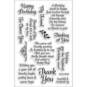 Unmounted Rubber Stamps Sheets