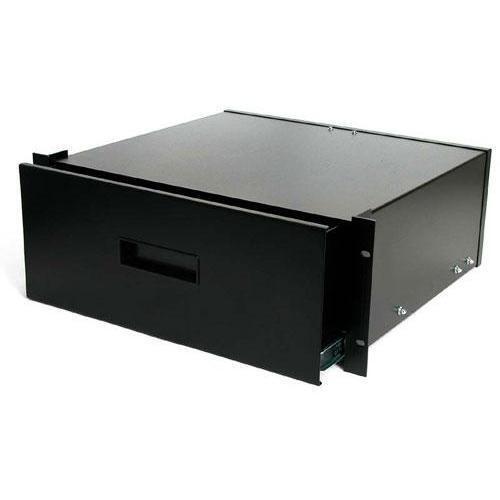 """4UDRAWER Startech 4U Black Steel Storage Drawer for 19"""" Racks and Cabinets"""