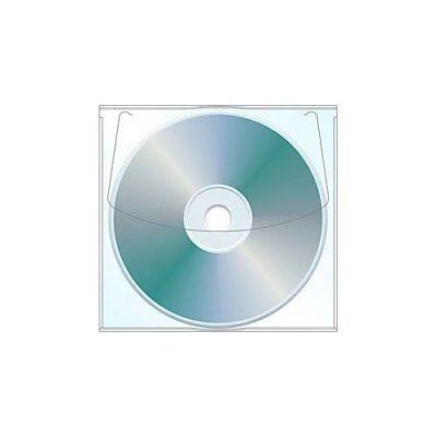 Adhesive Cd Dvd Sleeve - Box Of 1000