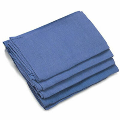 24 Pieces-new Blue Glass Cleaning Huck Surgicalshop And Detailing Towels