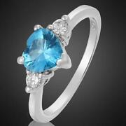 White Gold Ring O