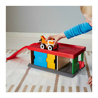 Garage with tow truck from IKEA