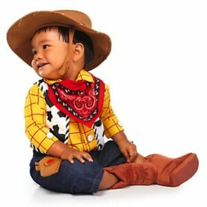 Disney Deluxe Toy Story Woody Costume for Baby Boys(3-6m) New