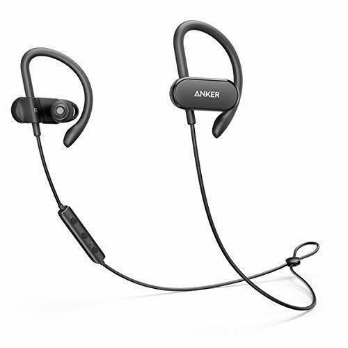 Anker SoundBuds Curve Wireless Headphones Bluetooth 4.1 Spor