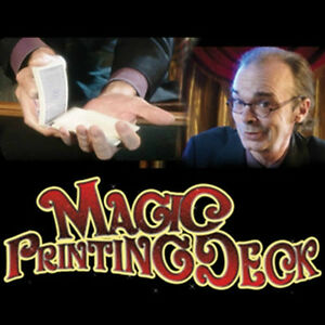-PRINTING-DECK-Street-Card-Tricks-Close-Up-EZ-Playing-Beginner-Blank ...