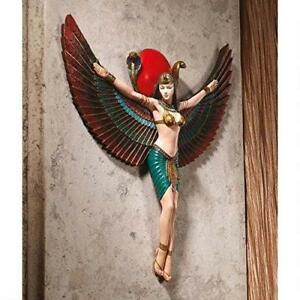 NEW Design Toscano Goddess Isis Wall Sculpture