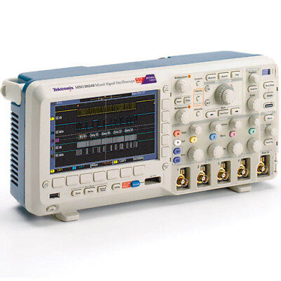 Tektronix Mso2024b 200 Mhz 416-ch 1gss Mixed Signal Oscilloscope