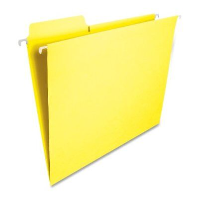 - Smead 64097 Yellow Fastab Hanging Folders - Letter - 8.50