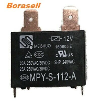 Meishuo Mpy-s-112-a Power Relay 4 Pins 12vdc 20a 250vac Usa Seller