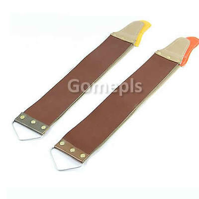 Canvas Leather Strap Sharpening for Barber Open Straight Razor Sharpening Shave