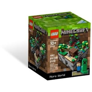 Lego Minecraft Genuine Merchandise - BRAND NEW - Never Used