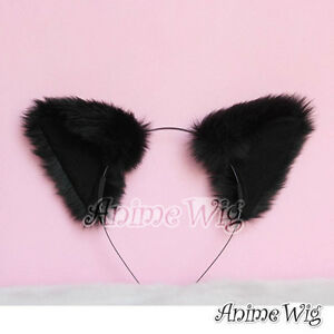 Cute Cat Fox Ears Headband Multi-Colors Beautiful Hair Accessory Anime Cosplay