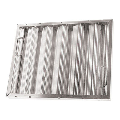 """BAFFLE-TYPE GREASE FILTER W/Handles Galvanized 20"""" X 25"""" X 2"""" for CHG 261770"""