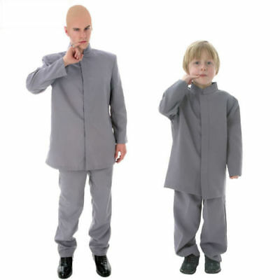 Dr. Evil Austin Powers 1960S Adult Mens Halloween Deluxe Cosplay Costume@3 - Austin Powers Halloween