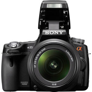 Sony Alpha SLT-A33 DSLR 14.2 MP with AF Zoom Lens