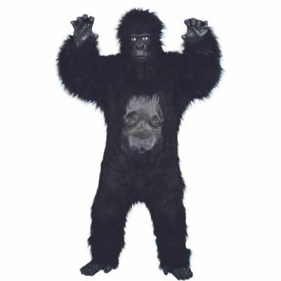Smi - Halloween Herren Kostüm böser Gorilla Deluxe als Affe zu - Gorilla Kostüm Halloween