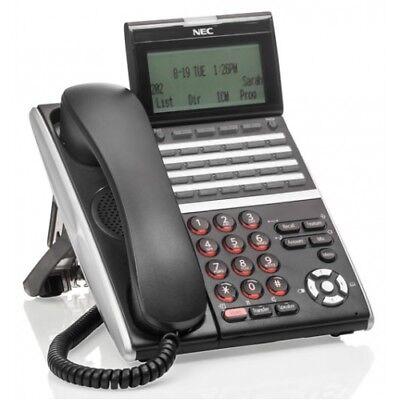 Nec Itz-24d-3bktel Izvxdw-3ybk 660004 Ip Phone Refurbished 1 Year Warranty