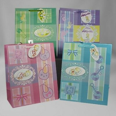 Baby Gift Bags, Medium 12 Pieces](Baby Gift Bags)