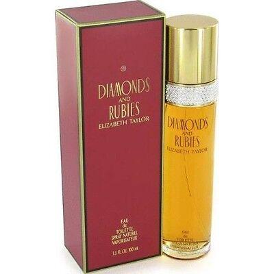 Diamonds   Rubies   Elizabeth Taylor   Perfume For Women   3 3   3 4 Oz   Nib