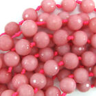 Rhodonite Faceted Loose Stone Beads