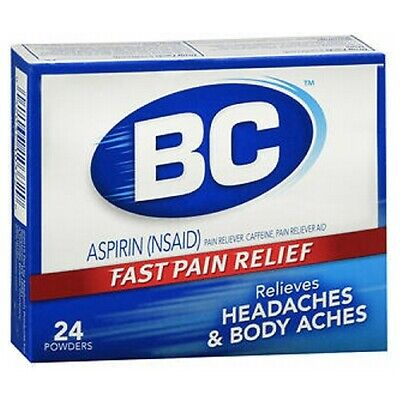 bc pain relief powders 24 each by