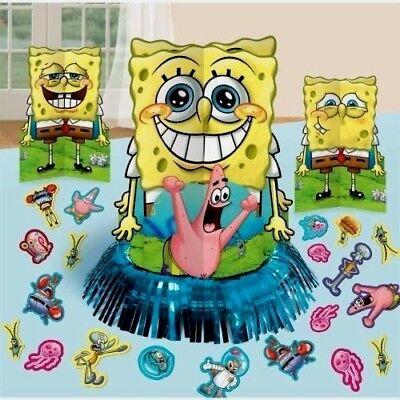 Spongebob Centerpieces (TABLE CENTERPIECE SPONGE BOB Wall Decoration Cutouts Patrick               7-5A)