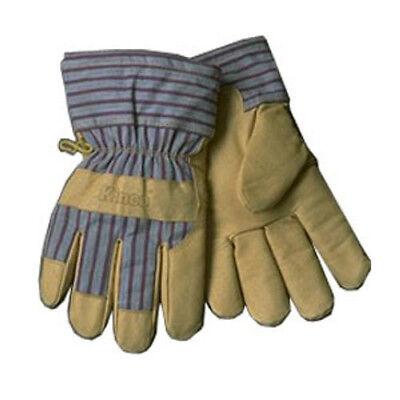 (Kinco 1927L Large Grain Pigskin Work Gloves, Size Large)