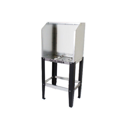 Quick Clean QCX-2024 Econo Floor Washout Booth with Acrylic Back