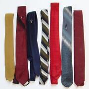 Mens Vintage Skinny Ties