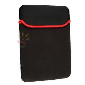 Black Sleeve Case Bag Pouch Cover for 13 inch 13.3