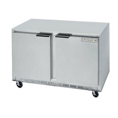 Beverage Air Ucrf50ahc 50 Undercounter Dual Temp Reach-in Refrigeratorfreezer
