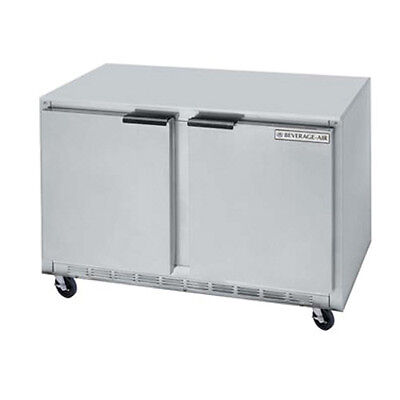 "Beverage Air UCRF48AHC 48"" Undercounter Dual Temp Reach-In Refrigerator/Freezer"