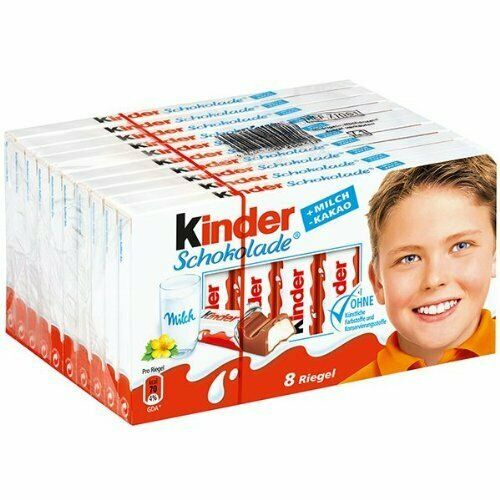 Kinder Chocolate, Case, 10x100g - EXP. 06.12.2021 - US Seller/Same Day Shipping