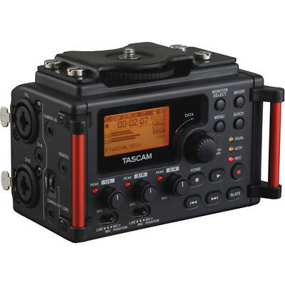 Tascam DR-60DmkII 4-Channel Portable Recorder for DSLR DR60Dmkii DR-60d mkii
